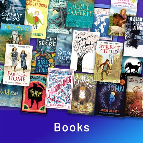 Books by Berlie Doherty – featured on the home page