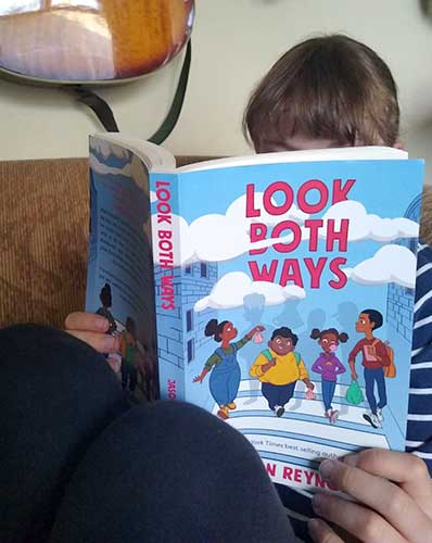 'Eda the Reader' reads 'Look Both Ways' by Jason Reynolds