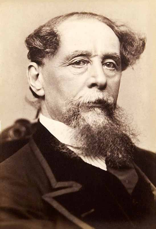 Charles Dickens, by Jeremiah Gurney