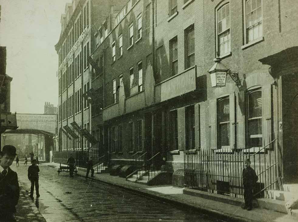 Dr Barnardo's first children's home: The Stepney Home for Destitute Boys