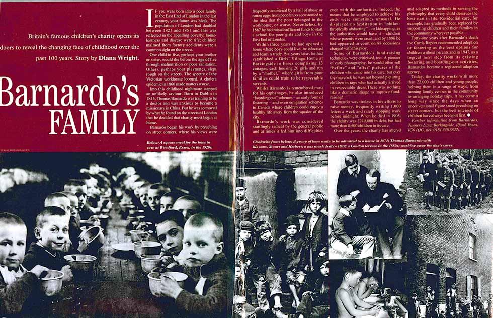 'Barnardo's family' – magazine article